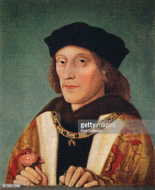 'Henry VII' 1935King of England Lord of Ireland was the founder and first patriarch of the Tudor dynasty From Kings Queens of England A Series of 50...