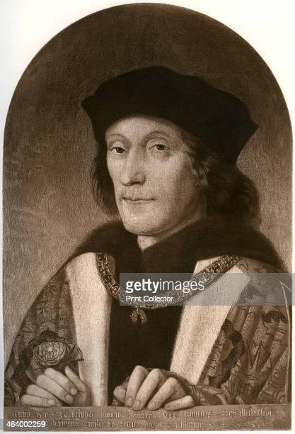 Henry VII c1505 Illustration from Henry VIII by A F Pollard