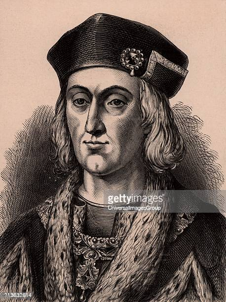 Henry VII first Tudor king of England from 1485 Defeated Richard III at Bosworth Field on 22 August 1485 the battle which ended the Wars of the Roses...