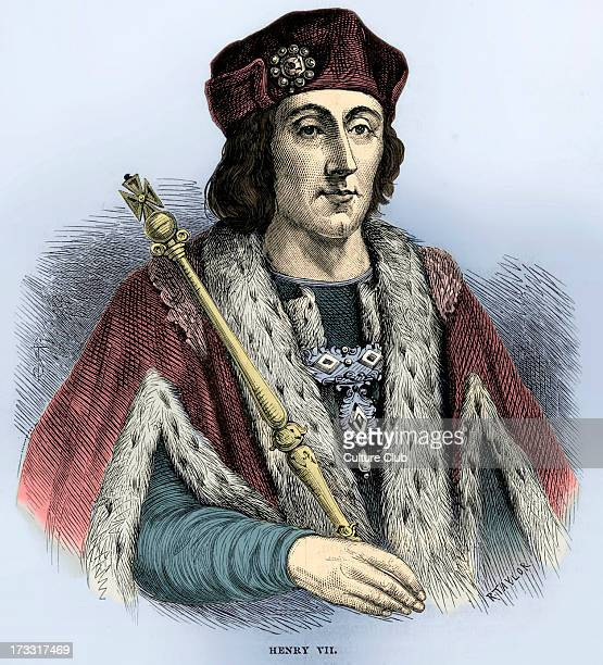 Henry VII of England portrait King of England and Lord of Ireland from his seizing the crown on 22 August 1485 until his death on 21 April 1509 First...