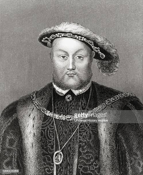 Henry Viii 1491 – 1547 King Of England And Ireland From The History Of England Published 1859