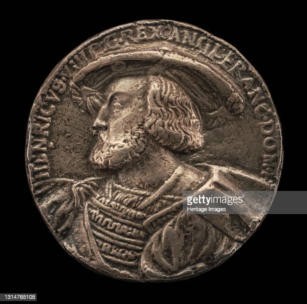 Henry VIII, 1491-1547, King of England 1509. Artist Hans Schwarz.