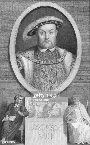 'Henry VIII' 1788 Henry VIII King of England from 21 April 1509 until his death From The History of England by David Hume [T Cadell Edinburgh...