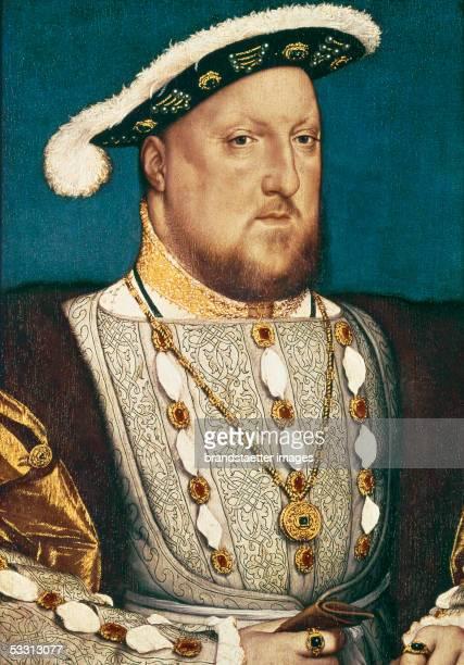 Henry VIII King of Britan Canvas [Henry VIII Koenig von England Gemaelde]