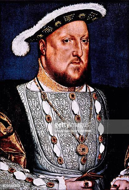 Henry VIII King of England 150947 Portrait by Hans Holbein 1536