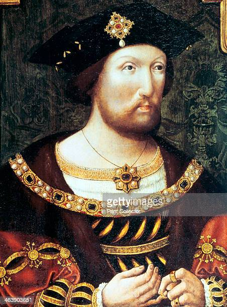 Henry VIII King of England and Ireland c1520 Henry reigned from 1509 until 1547 Anonymous portrait From the National Portrait Gallery London