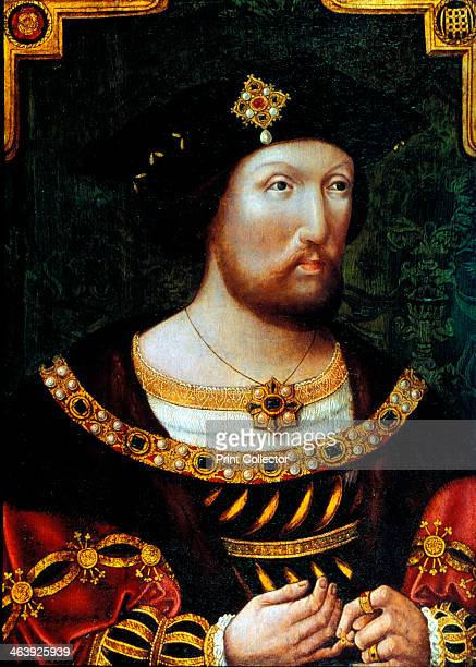 Henry VIII King of England c1520 Henry succeeded his father Henry VII in 1509 Obsessed with passing the throne on to a male heir he had six wives in...