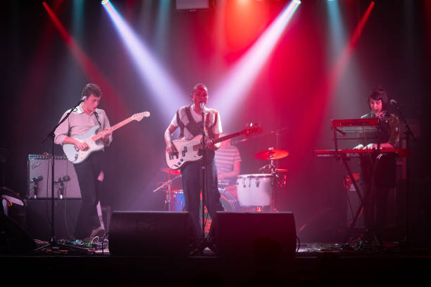 GBR: The Orielles Perform At Belgrave Music Hall Leeds
