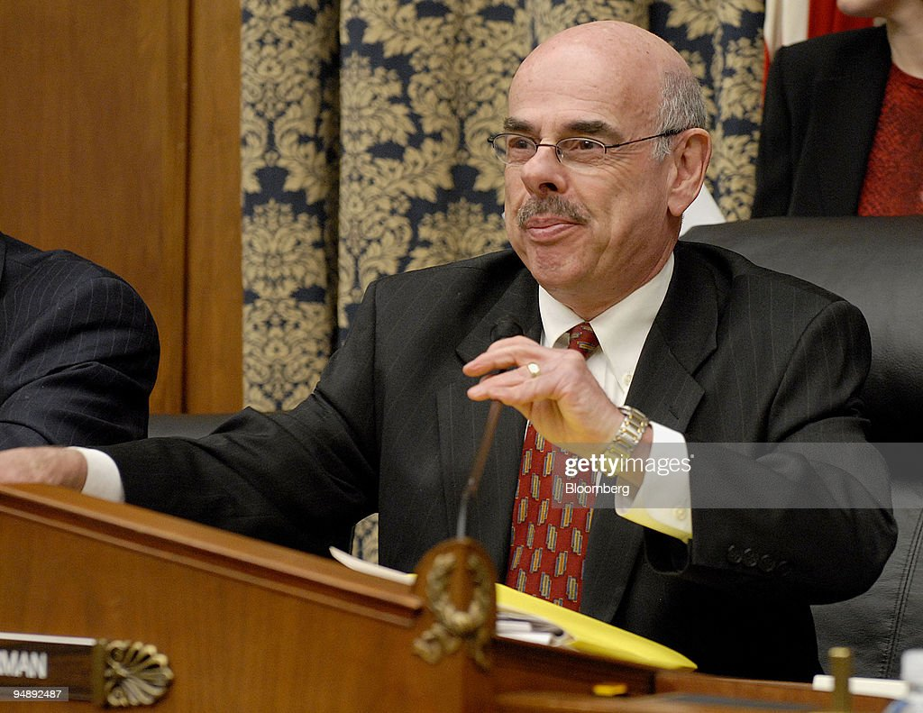 Henry Waxman U.S. representative from California chairs a hearing of the House Committee on.  sc 1 st  Getty Images & Henry Waxman U.S. representative from California chairs a Pictures ...