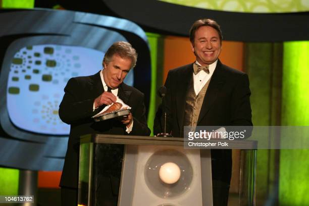 Henry Winkler and John Ritter during The TV Land Awards Celebration of Classic TV at Hollywood Palladium in Hollywood CA United States