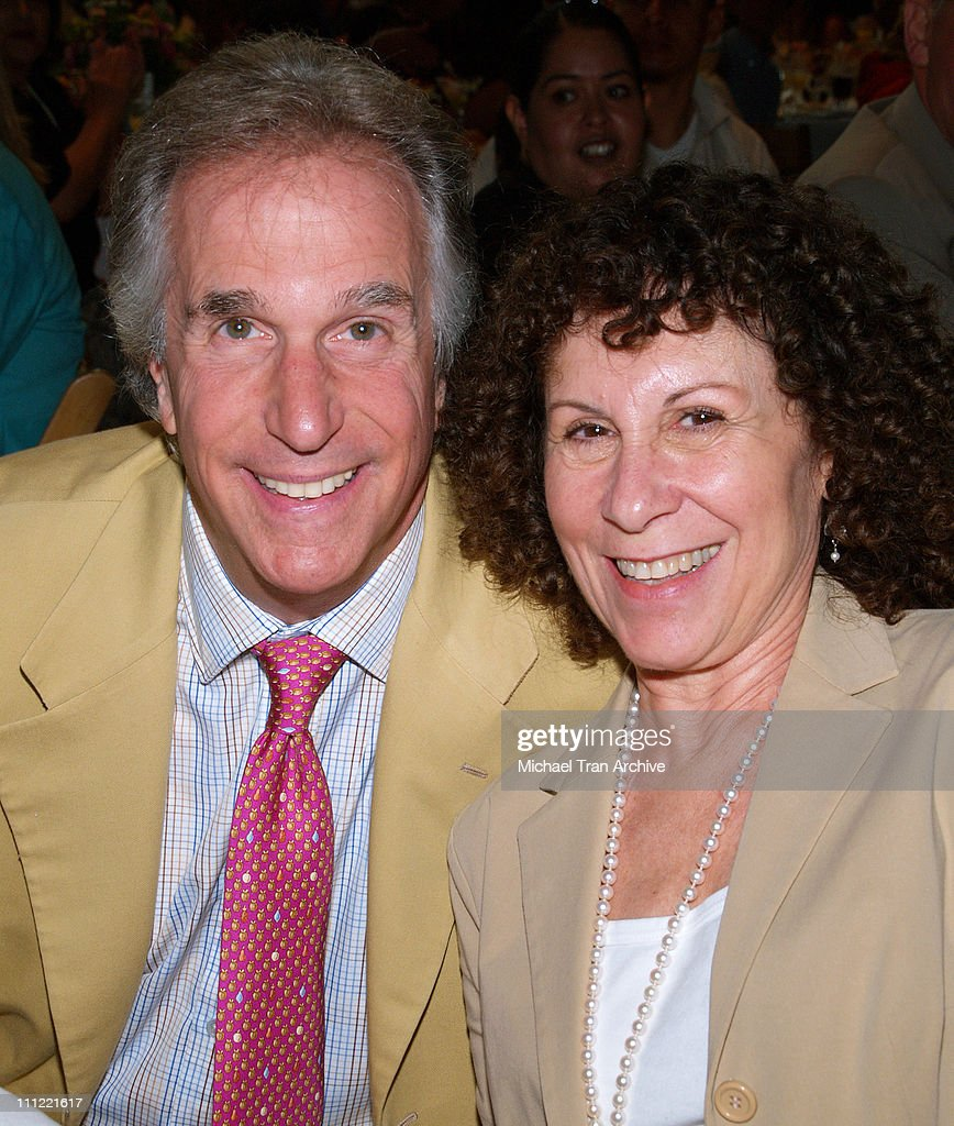 Henry Winkler and Rhea Perlman during LA's Best Hosts 11th Annual Family Brunch at Sony Pictures Entertainment in Culver City, CA, United States.