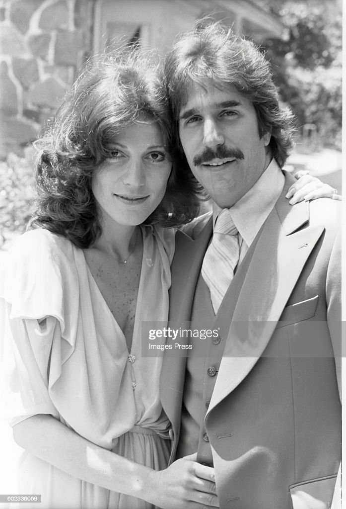 Henry Winkler and Stacey Weitzman... : News Photo