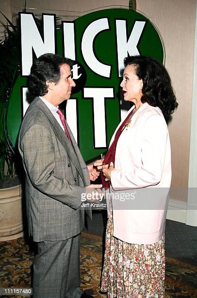 Henry Winkler and Valerie Harper during 1996 MTV's Nickelodeon