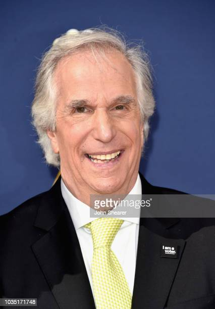 Henry Winkler attend the 70th Emmy Awards at Microsoft Theater on September 17 2018 in Los Angeles California