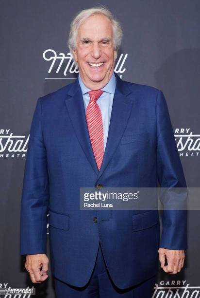 Henry Winkler attends Garry Marshall Theatre's 3rd Annual Founder's Gala Honoring Original Happy Days Cast at The Jonathan Club on November 13 2019...