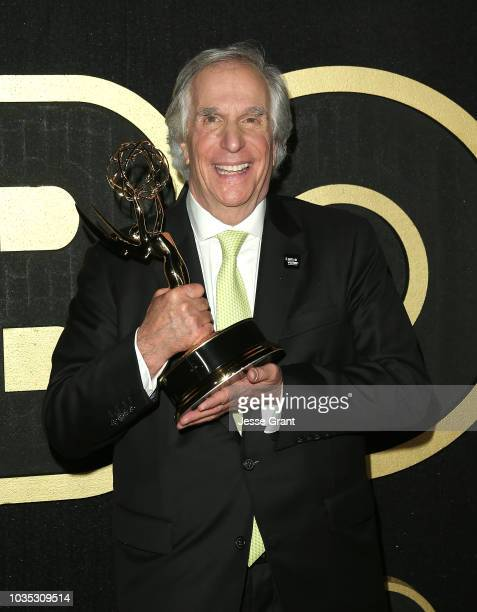 Henry Winkler attends HBO's Post Emmy Awards Reception at The Plaza at the Pacific Design Center on September 17 2018 in Los Angeles California