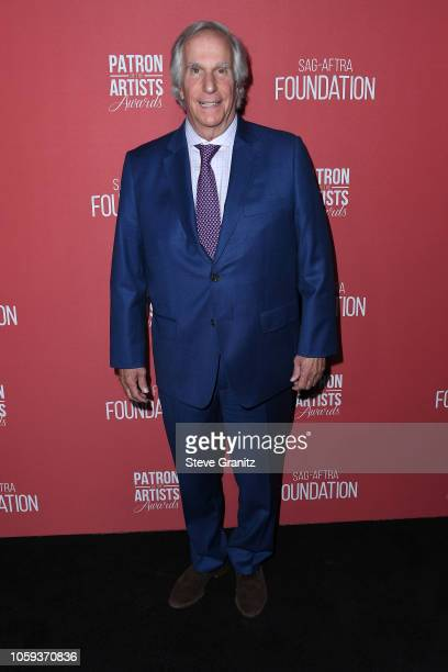 Henry Winkler attends SAGAFTRA Foundation's 3rd Annual Patron of the Artists Awards at Wallis Annenberg Center for the Performing Arts on November 8...