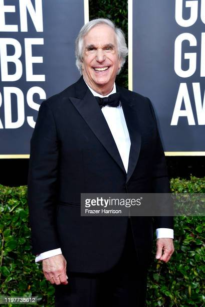 Henry Winkler attends the 77th Annual Golden Globe Awards at The Beverly Hilton Hotel on January 05 2020 in Beverly Hills California
