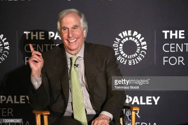 Henry Winkler attends The Paley Center For Media Presents An Evening With Henry Winkler at the Beverly Wilshire Four Seasons Hotel on February 12...