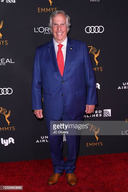 Henry Winkler attends the Television Academy Honors Emmy Nominated Performers at Wallis Annenberg Center for the Performing Arts on September 15 2018...