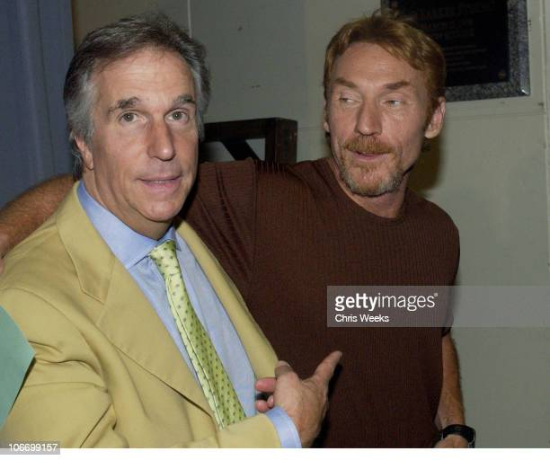 Henry Winkler Danny Bonaduce during David Spade and CoStars from Paramount Pictures' Dickie Roberts Former Child Star Tape Hollywood Squares at CBS...