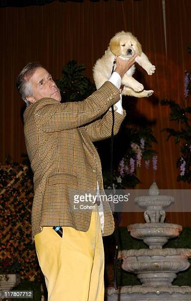 Henry Winkler during 6th Annual Lullabies Luxuries Luncheon and Fashion Show to Benefit Caring for Children Families with AIDS Inside at Regent...