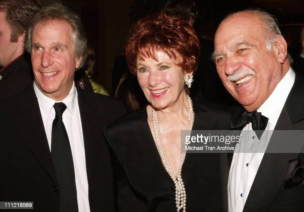 Henry Winkler Marion Ross and husband Paul during 56th Annual ACE Eddie Awards Arrivals at Beverly Hilton in Beverly Hills California United States