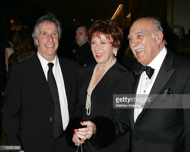 Henry Winkler Marion Ross and Paul Michael during The 56th Annual ACE Eddie Awards Red Carpet at Beverly Hilton Hotel in Beverly Hills California...