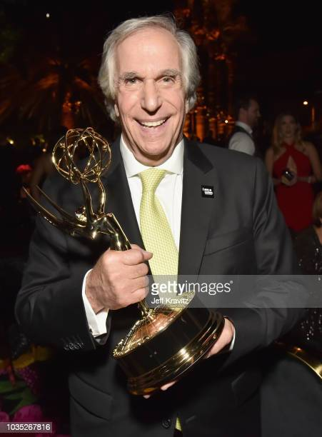 Henry Winkler winner of the award for Outstanding Supporting Actor in a Comedy Series for Barry attends HBO's Official 2018 Emmy After Party on...