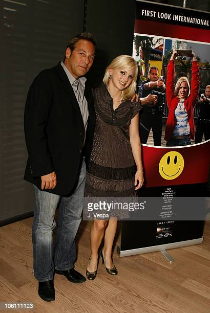 Henry Winterstern and Anna Faris during 31st Annual Toronto International Film Festival - First Look Pictures Party at Gardiner Museum in Toronto,...