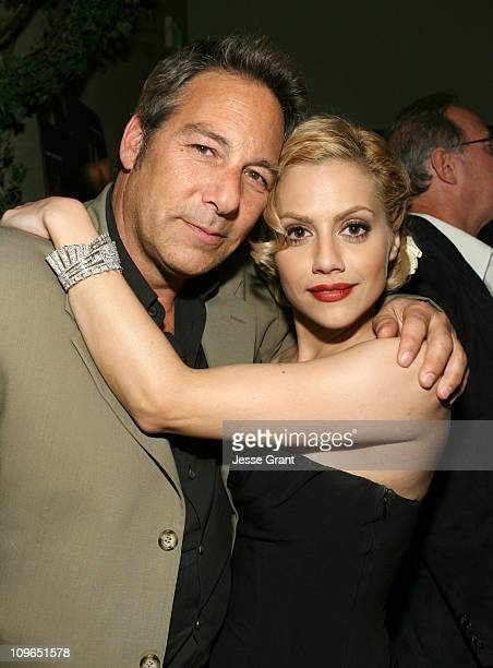 """Henry Winterstern and Brittany Murphy during The Premiere Party for """"The Dead Girl"""" at LIVEstyle Entertainment's Premiere Lounge during AFI FEST 2006..."""