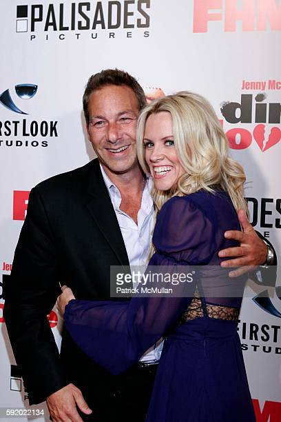 Henry Winterstern and Jenny McCarthy attend First Look Pictures and FHM Magazine Present Jenny McCarthy's 'Dirty Love' Film Premiere and After-Party...
