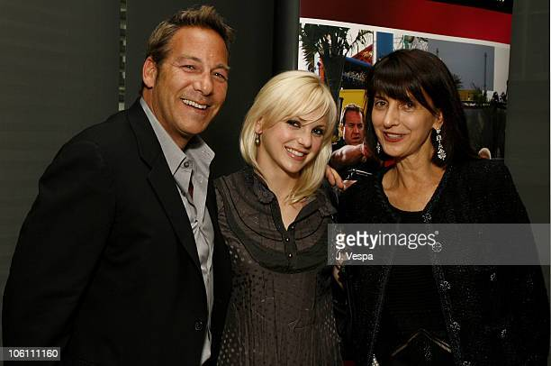 Henry Winterstern, Anna Faris and Ruth Vitale during 31st Annual Toronto International Film Festival - First Look Pictures Party at Gardiner Museum...