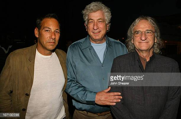 """Henry Winterstern, Avi Lerner and Boaz Davidson during 2007 Cannes Film Festival - """"Major Moviestar"""" Party on the Budweiser Select Yacht - Inside at..."""