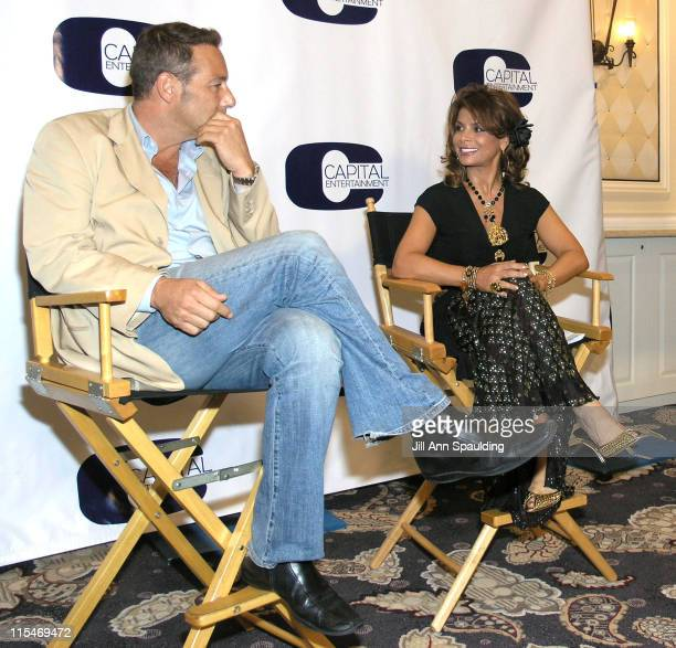 Henry Winterstern, president of Capital Entertainment, and Paula Abdul