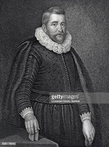 Henry Wotton English diplomat and poet Engraving