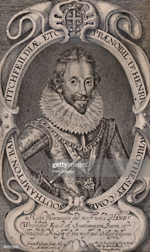 Henry Wriothesley , Earl of Southampton, patron of William    News
