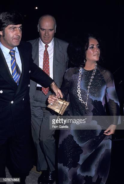 Henry Wynberg and Elizabeth Taylor in New York City New York United States