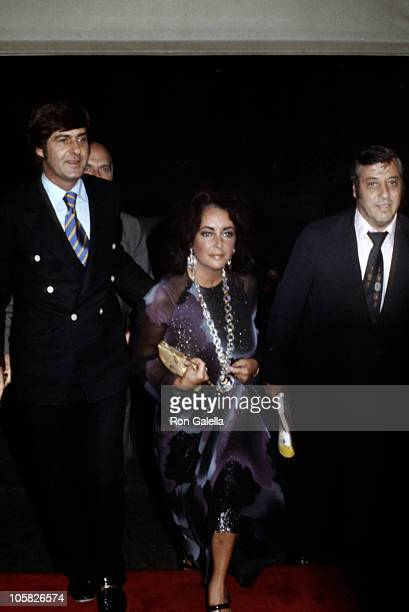 Henry Wynberg Elizabeth Taylor and Guest during Henry Wynberg and Elizabeth Taylor sighting New York City August 13 1974 at Lorelei's in New York...