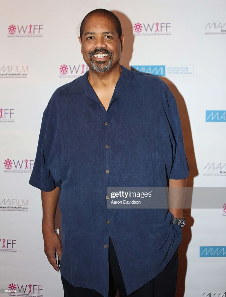 HenryÊJennie Walker attends opening night screening of 'Free Angela' during the 2013 Women's International Film and Arts Festival at Adrienne Arsht Center on March 20, 2013 in Miami, Florida.
