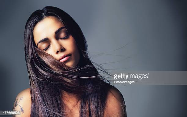 her beauty is all natural - black hair stock pictures, royalty-free photos & images