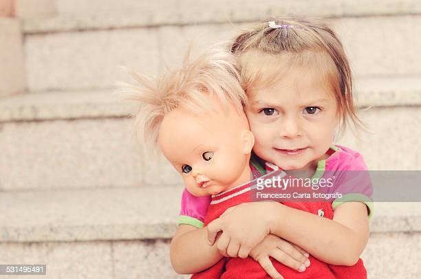 Her broken doll