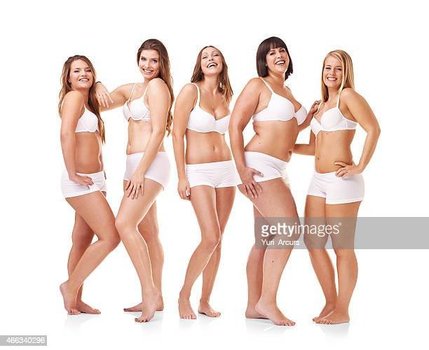 her confidence is all natural - chubby stock photos and pictures