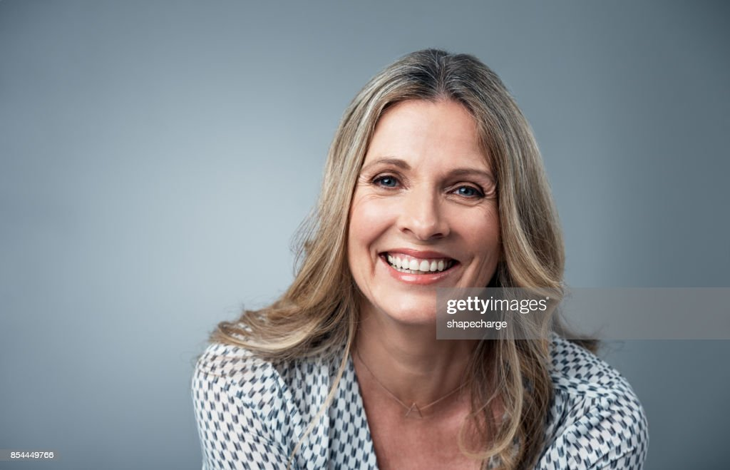 Her confidence just shines : Stock Photo