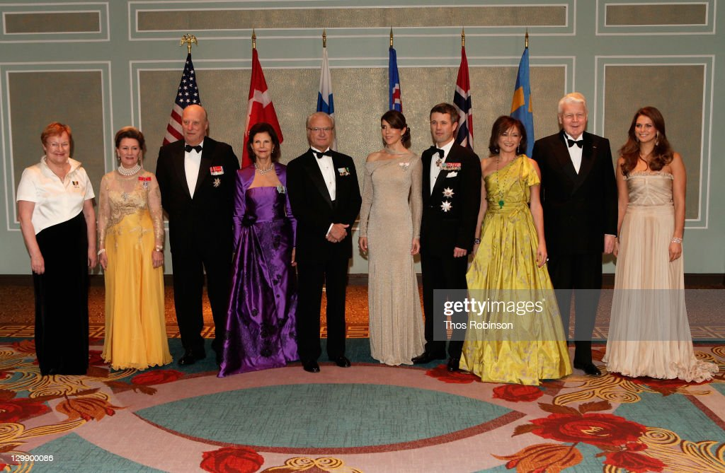The American-Scandinavian Foundation Celebrates Its 100th Anniversary At Centennial Ball - Arrivals : News Photo