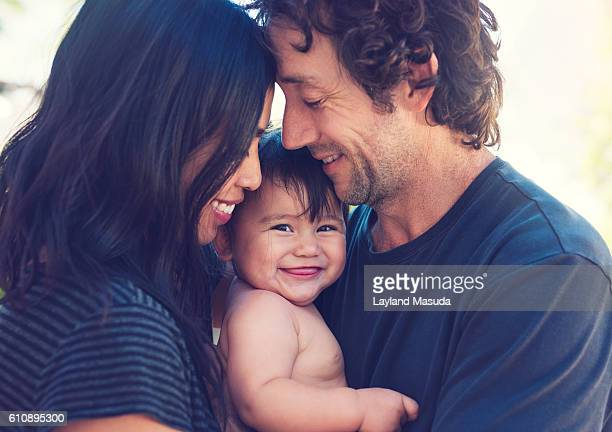 her family - mixed race person stock pictures, royalty-free photos & images