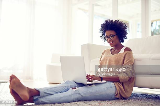 her favorite way to spend an off day - womans bare feet stock photos and pictures