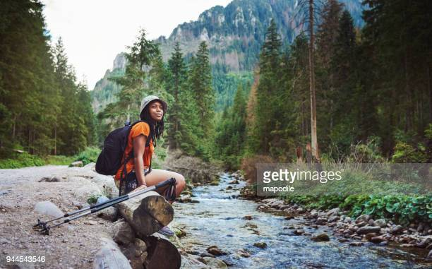 her favourite spot to trek to - travel stock pictures, royalty-free photos & images