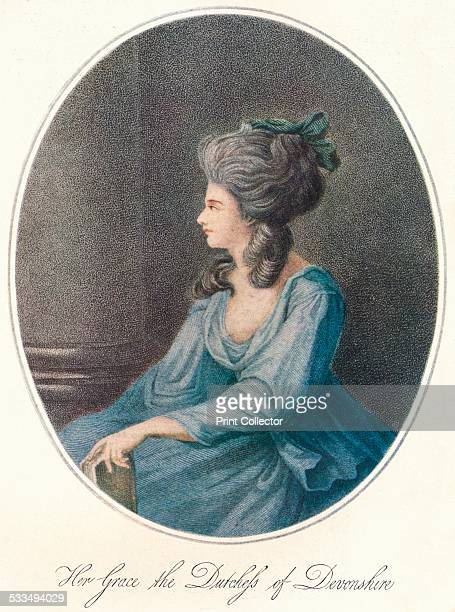 Her Grace the Duchess of Devonshire, 18th century. Georgiana, Duchess of Devonshire. Georgiana Cavendish was famous for her beauty, her political...