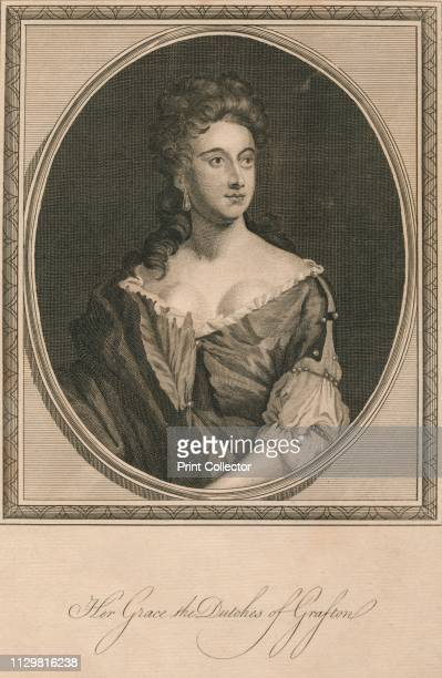 Her Grace the Dutches of Grafton', 1787. Portrait of English peer and heiress Isabella FitzRoy, Duchess of Grafton, Duchess of Grafton . She was...